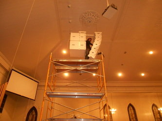 Fumc san marcos church stage lighting sound and video for Lamp and light ministries