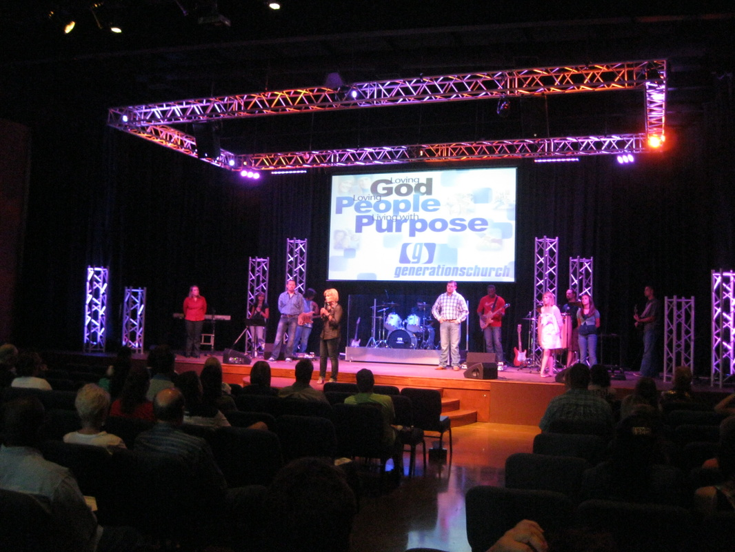 church stage lighting design generations church leander