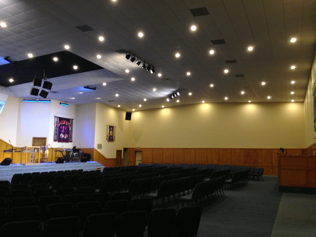 Led Rebate Projects Church Amp Stage Lighting Sound And