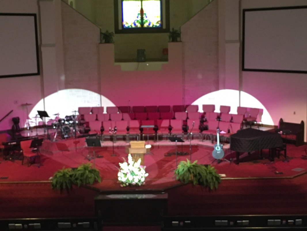 Current projects church stage lighting sound and for Lamp and light ministries
